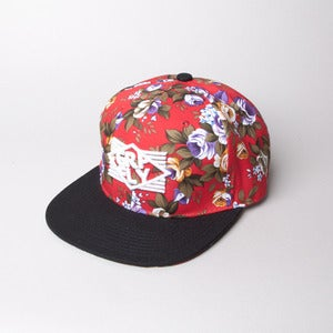 Image of Stripes Floral Snapback