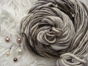 Image of Handspun Merino Wool - Lil Yin and Yang