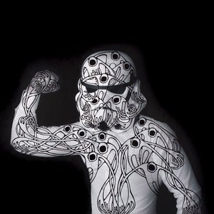 Image of Alex Diamond: Self-Portrait As a Stormtrooper (original artwork)