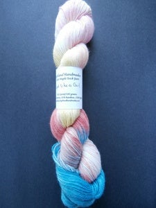 Image of Fight Like a Girl - Silver Maple Sock