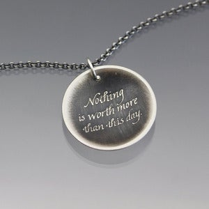 Image of Nothing is Worth More Necklace