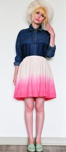Image of Ombre Skirt