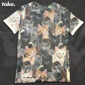 Image of Toke - Cat - Tee