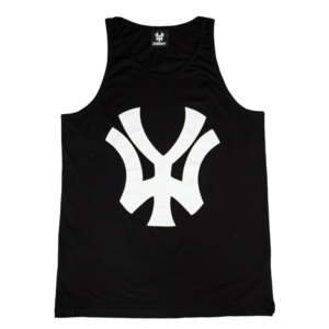 Image of 'WY' Men's Vest - Black/White