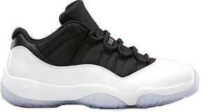 "Image of Jordan Retro 11 Low ""White/Black-True Red"""