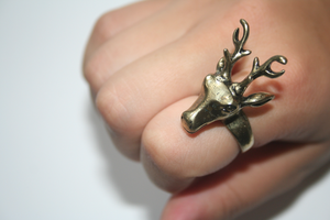 Image of Oh Deer Bronze Ring