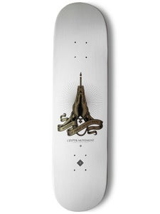 Image of SKATEBOARD DECK (White) | Ministry of Public Enlightenment