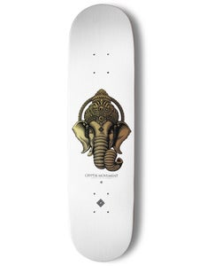 Image of SKATEBOARD DECK (White) | Ganesha