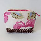 Image of zippered pouch - gypsy caravan