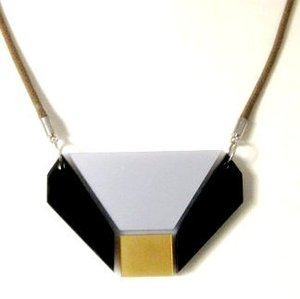 Image of Anmark Design - Gold Geometric Necklace