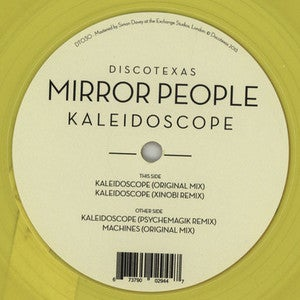 "Image of MIRROR PEOPLE ""KALEIDOSCOPE - REMIXES"" 12"" VINYL"