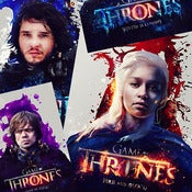 Image of Game of Thrones Poster set