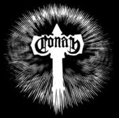 Image of Conan Back Patch - Battle Hammer Logo