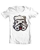 Image of Bear Trooper White T-Shirt