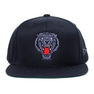 Image of Prey Snapback Cap (Black/Black)