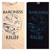 Image of Baroness Relief T-Shirts  (Black Shirt)