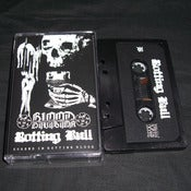 Image of BLOOD DIVISION / ROTTING BULL Split Cassette
