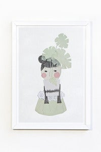 Image of Plant girl print - A4
