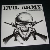 "Image of EVIL ARMY ""I, Commander"" 7"""