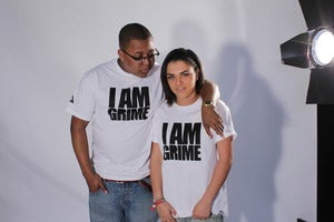 "Image of Two for £20 // ""I Am Grime"" White T-Shirt w/ BlackPrint (OUAG x Jammz)"