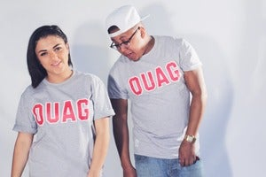 "Image of Two for £20 // Grey ""OUAG"" T-Shirt"
