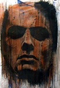 Image of 'FLAG RED' BY GUY DENNING