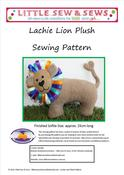 Image of PDF Sewing Pattern Lachie Lion Plush - photo tutorial - e-file - proceeds to SMA Australia