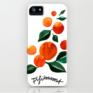 Image of Orange Tree iPhone Case