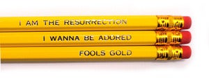 Image of Stone Roses Pencil Set