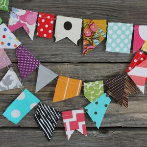 Image of scrappy bunting
