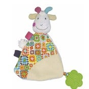Image of 'Hugette the Goat' Comforter with Teether
