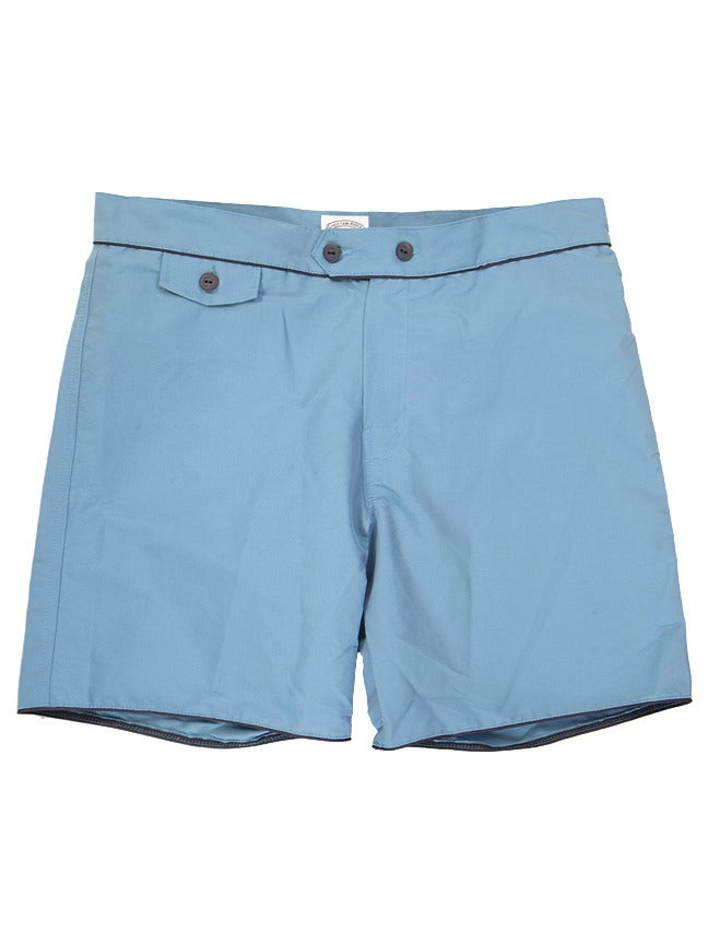 Image of Sky Blue Swim Trunks