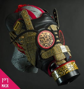 Image of Adidas x Kara Messina Pro Shells Gas Mask