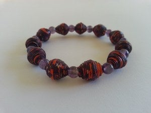 Image of Heal and Cleanse - Purple Reign AYA Bracelet