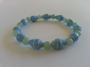 Image of Prosperity - Sea Green AYA Bracelet