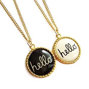 Image of Hello Necklace