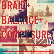 "Image of Braid/Balance And Composure Split 7"" WHITE Vinyl"