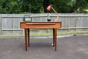 Image of Danish teak/afromosia console/hall table with drawer circa 1960s