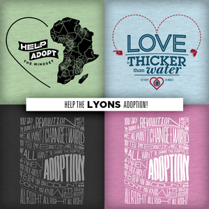 Image of LYONS ADOPTION! / Love Is Thicker Than Water