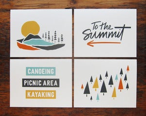 Image of The Great Outdoors Card Set