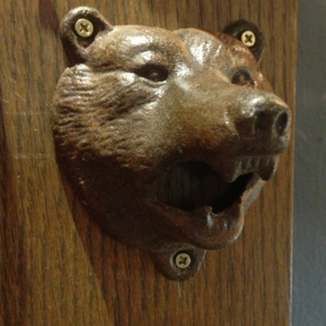 Image of Cast Iron Bear Bottle Opener