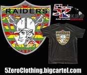 "Image of 5 Zero Clothing "" Kanaka Raider Nation "" FREE SHIPPING"