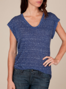 Image of Alternative Apparel Cybill Top in Blue