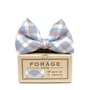 Image of summer gingham {kids bow tie}