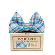 Image of summer plaid {kids bow tie}