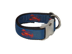Image of Red Lobster - Dog Collar in the category  on Uncommon Paws.