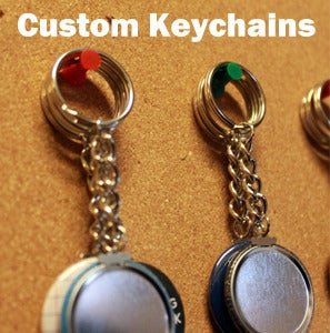 Image of Custom Keychains