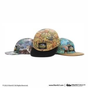 Filter017 5 Panel Camp Cap (Wild Animal Series 1)