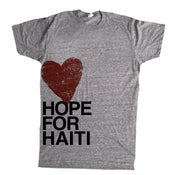 Image of Hope for Haiti T-Shirt, Crew Neck