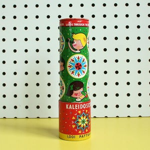 Image of Vintage Tin Toy Kaleidoscope